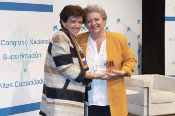 MARÍA VICTORIA DE ROJAS, EDITOR OF THE EJECUTIVOS GROUP  AND SENIOR MANAGER AT MARCO'S, WINS THE EL MUNDO DEL SUPERDOTADO FOUNDATION'S AWARD FOR EXCELLENCE IN WRITTEN PRESS