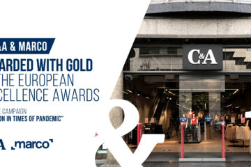 C&A AND MARCO AWARDED A GOLDEN EUROPEAN EXCELLENCE AWARD