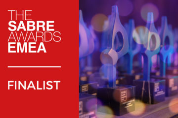MARCO FINALIST FOR AGENCY OF THE YEAR IN SOUTHERN EUROPE  AT THE SABRE EMEA AWARDS